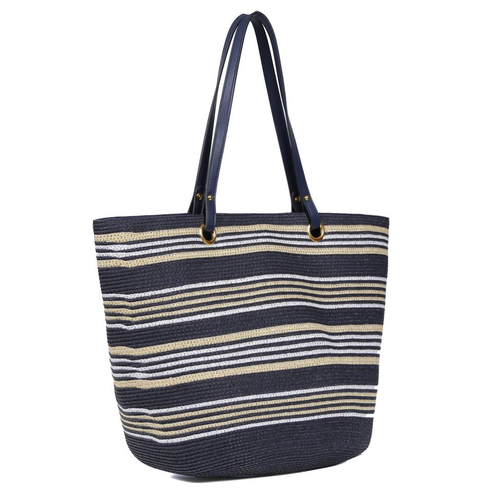 8b39f16959eb Женская пляжная сумка Fabretti KB9-5/17 blue/gold в Leo-Ventoni.ru