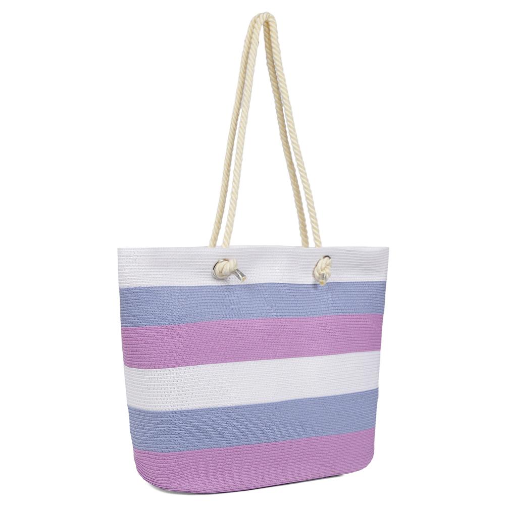 4321e8859a0a Женская пляжная сумка Fabretti GB55-14/12 blue/pink в Leo-Ventoni.ru
