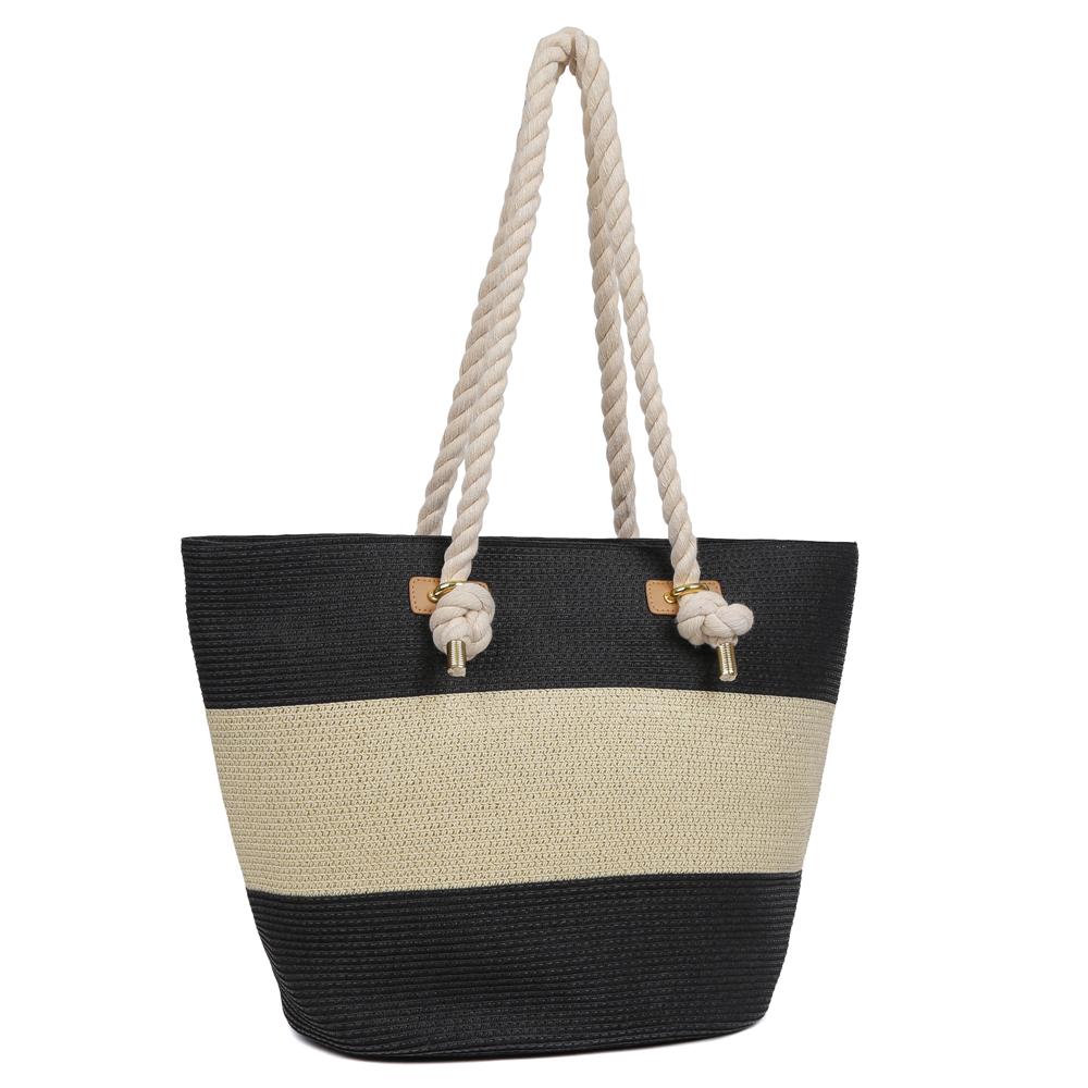 88412251aa67 Женская пляжная сумка Fabretti KB5-2/1 black/beige в Leo-Ventoni.ru