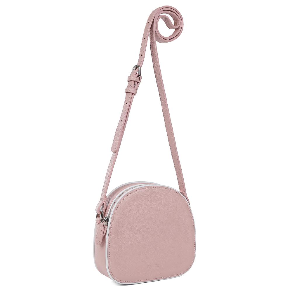 0d9cf55c86de Сумка кросс боди женская: кожанаяFabretti 15287-W1-322 pink | Купить ...