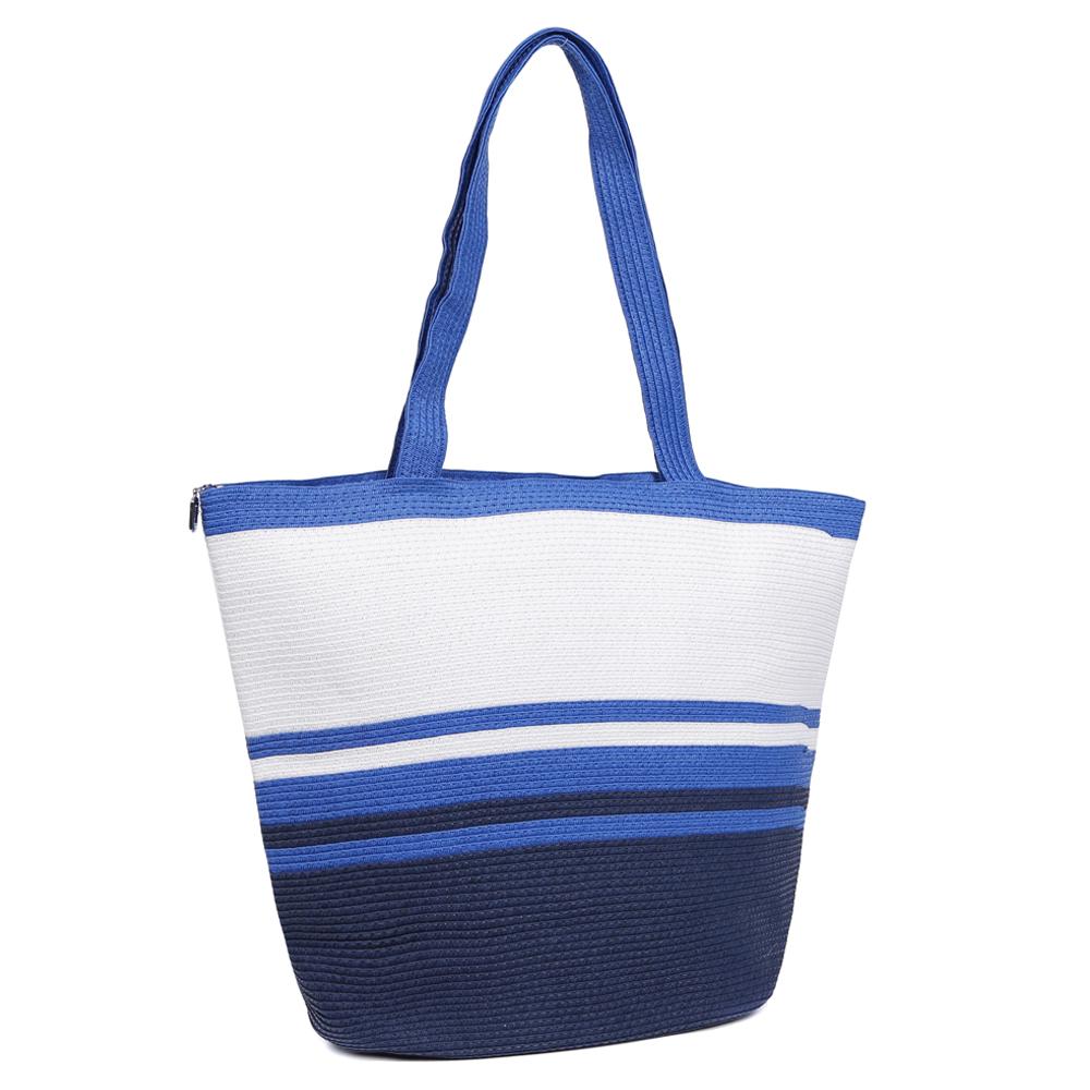 ee4c5c5c1a80 Женская пляжная сумка Fabretti GLB32-5 blue/white в Leo-Ventoni.ru
