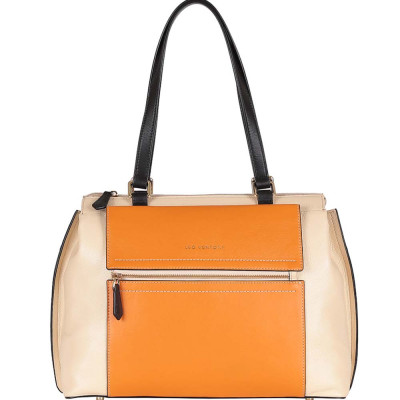 Сумка Leo Ventoni 23004243 beige/orange/nero