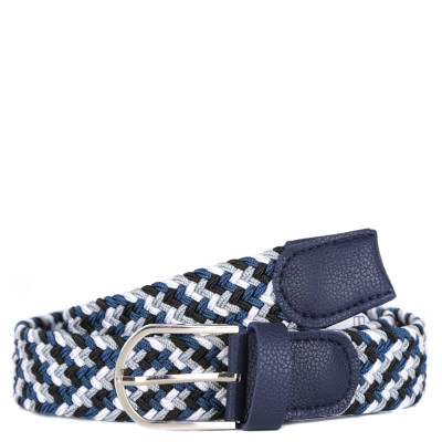 Ремень FABRETTI FR30PU-grey/blue